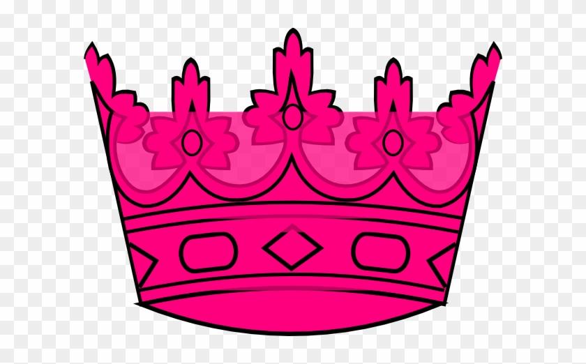 Pink Cartoon Crown - Crown Cartoon Pink #21918