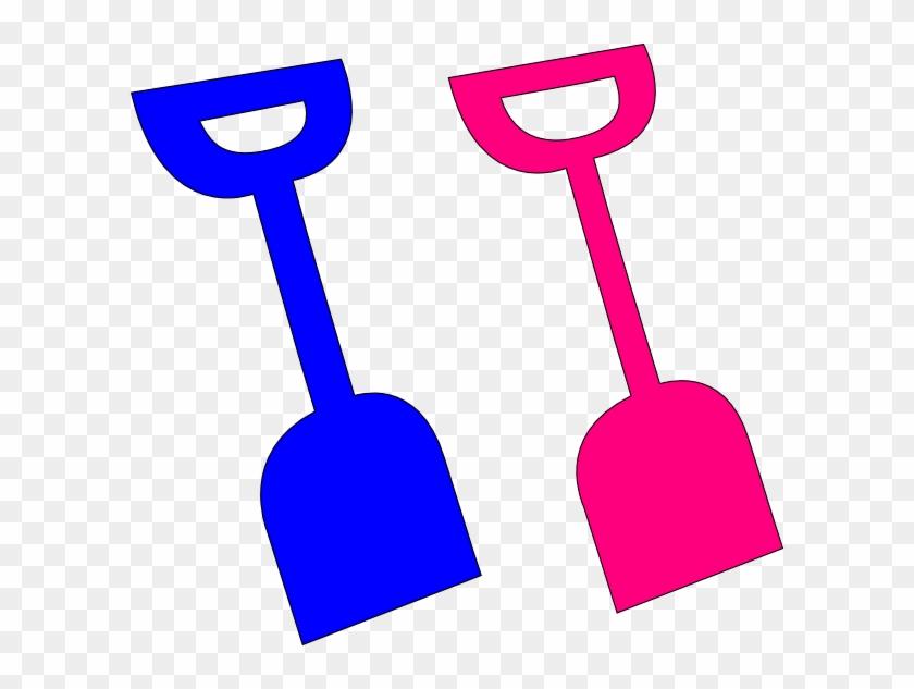 Shovel Clip Art At Vector Clip Art - Sand Shovel Clipart #21920