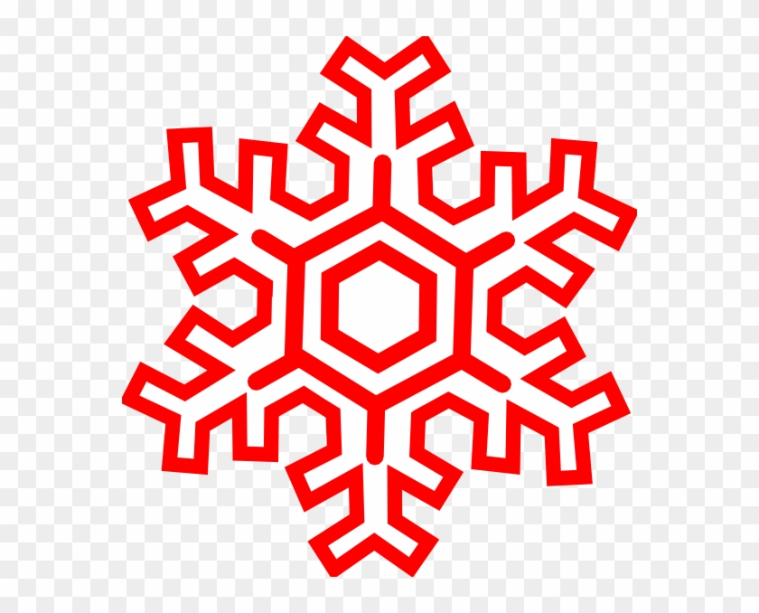 Red Snowflakes Transparent Background #21944
