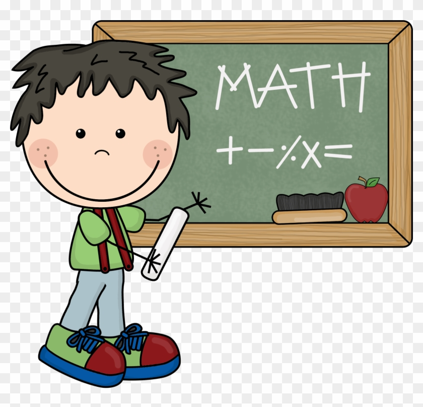 Mathematics Doodle Student Clip Art - Mathematics Doodle Student Clip Art #22018