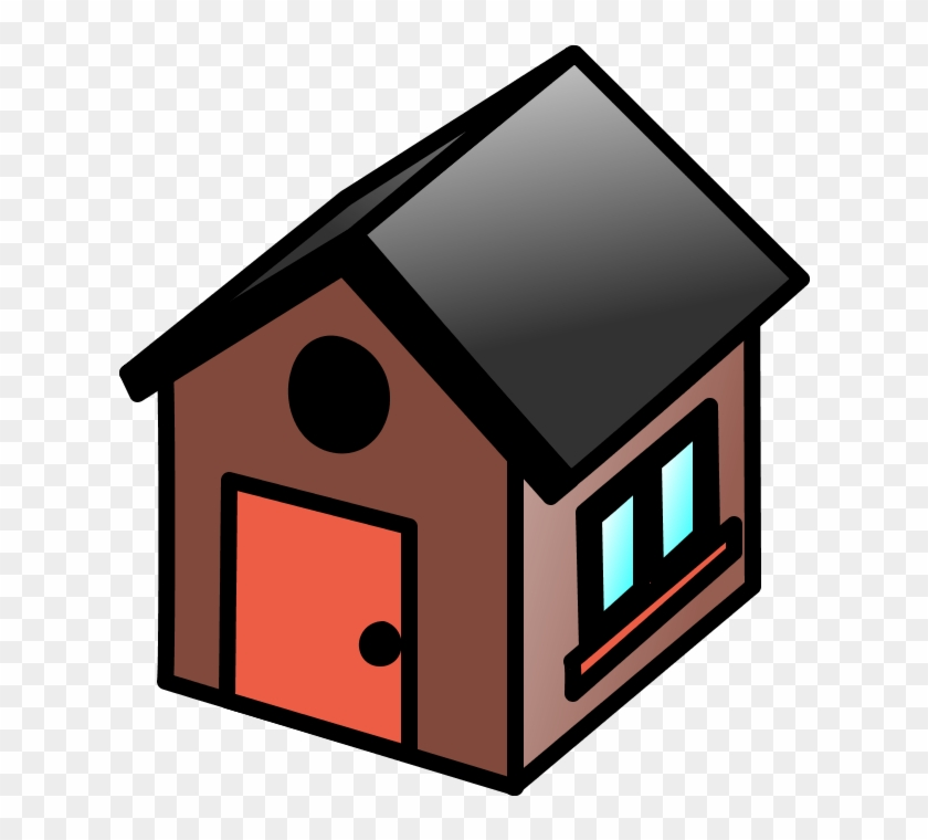 Building, House, Home, Homes - Small House Clipart #21971