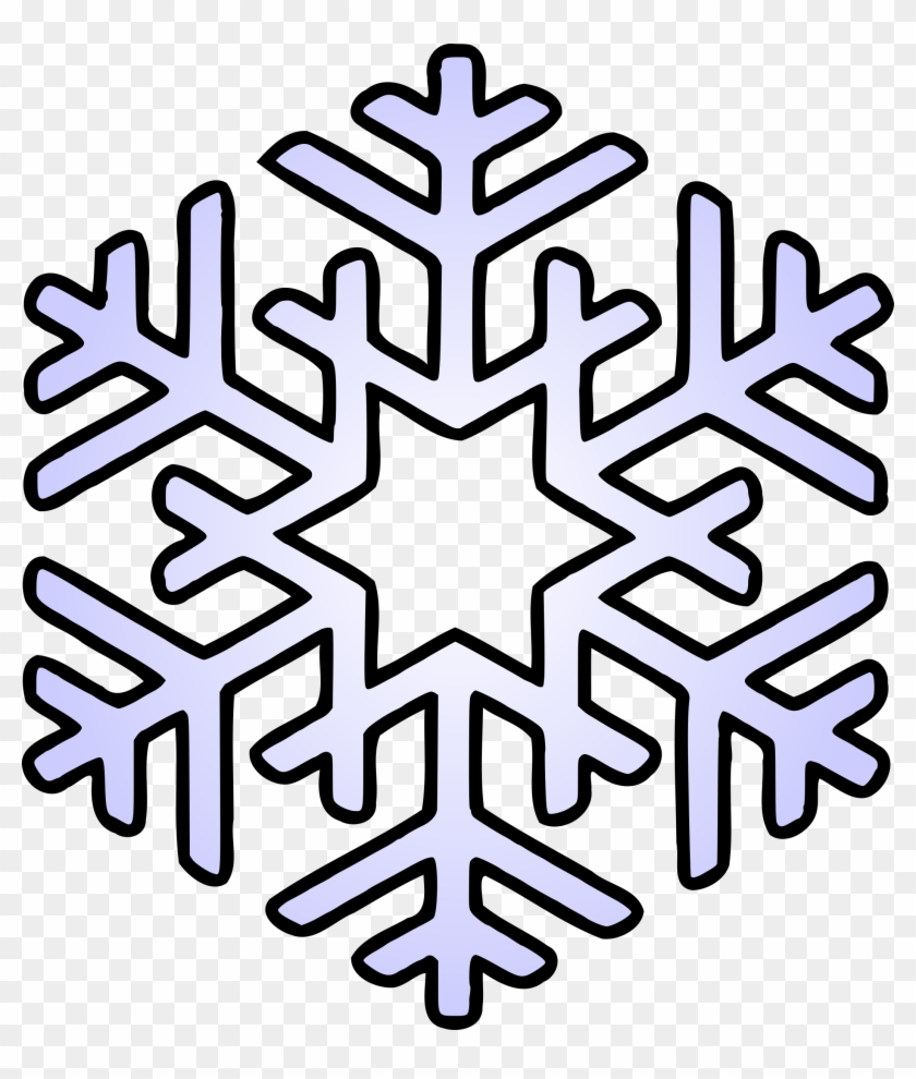 Crafty Design Clipart Snowflake - Snowflakes Coloring Pages Free ...