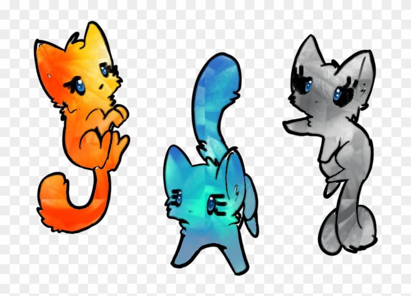Elemental Kittens Adoptables - Cool Cute Fnaf Drawings #21987