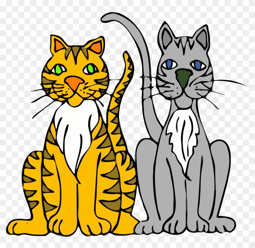 Persian Cat Kitten Cartoon Clip Art - Cats Clipart #22061