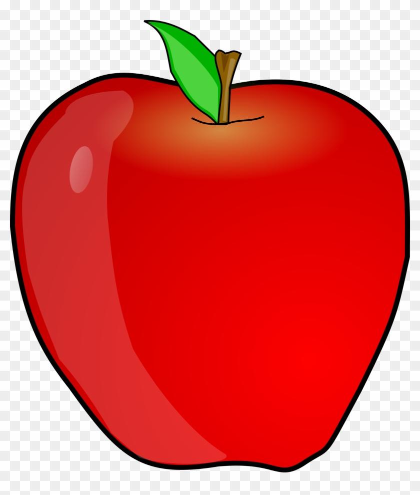Big Image - Apple Clip Art #22022