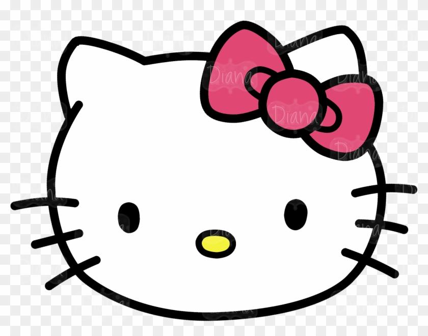 Hello Kitty Kitten Cat Clip Art - Hello Kitty Kitten Cat Clip Art #22183