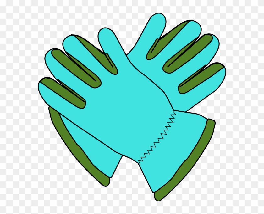 Gloves Snow Clipart - Gardening Gloves Clip Art #22084