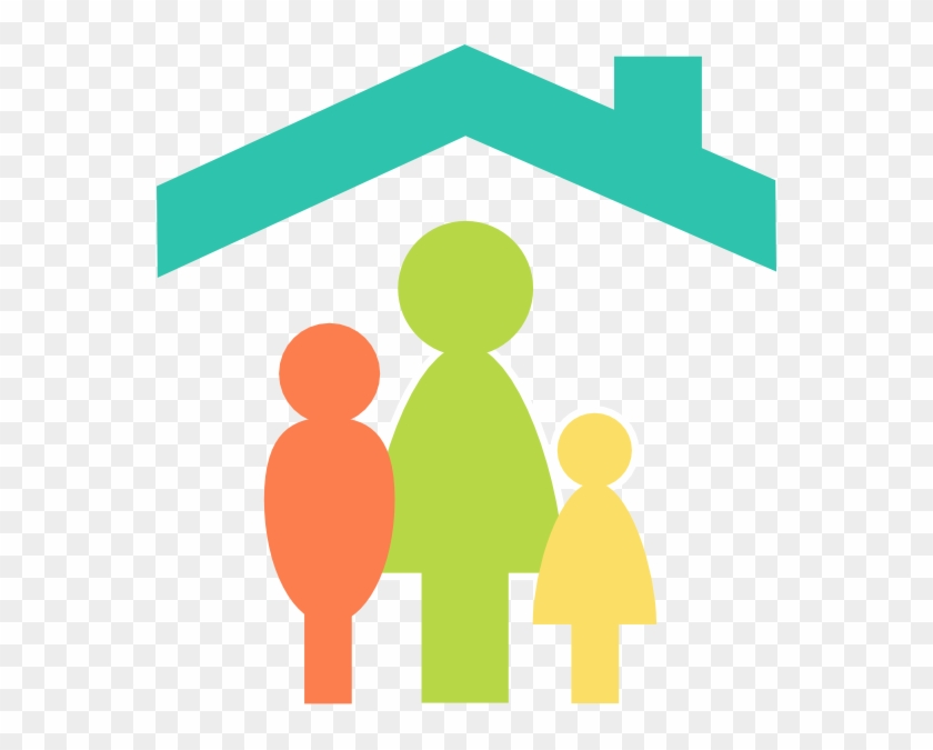 Family Home Clip Art At Clker - Family Clipart #22100