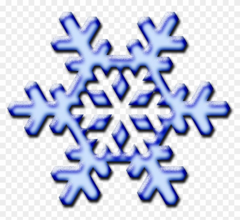 Snow Clip Art - Clip Art Flake #22110