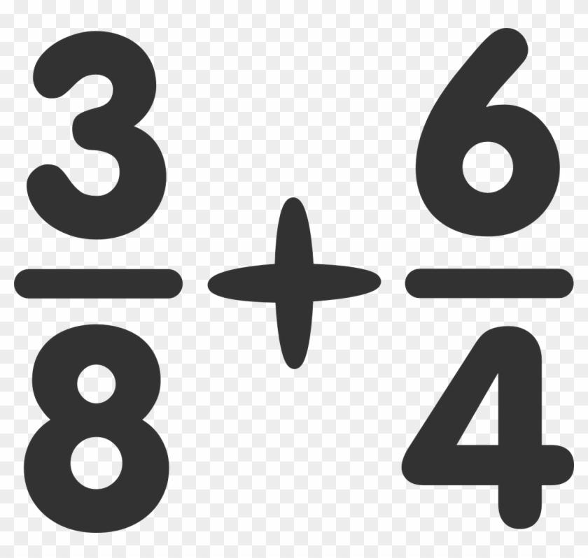Fraction Equation Clip Art At Clker - Math Equation Clipart #22109