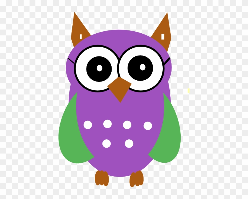 Owl Clip Art At Clker - Green Owl Clip Art #22155