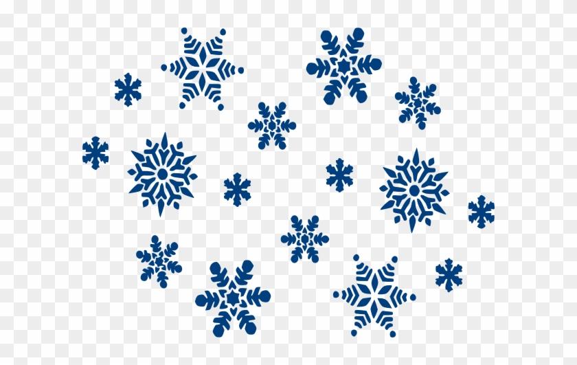 Snowflake Clip Art - Gray Snowflake Clipart #22158