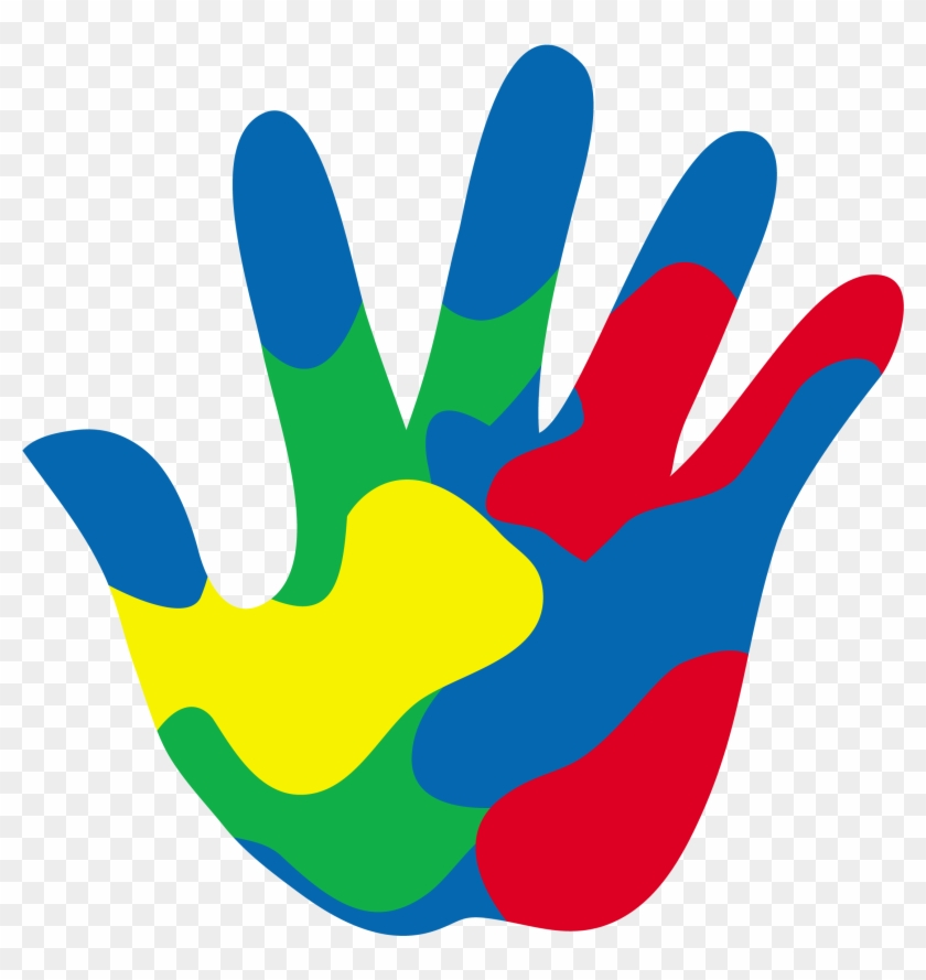 Painted - Hand Clipart #22178