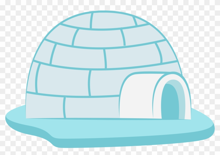 Icehouse Transparent Png Clip Art Image - Igloo Clipart Png #22196
