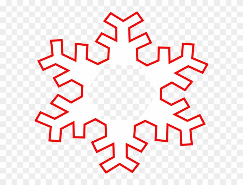 Snowflake Clipart - Copos De Nieve Para Pintar #22184