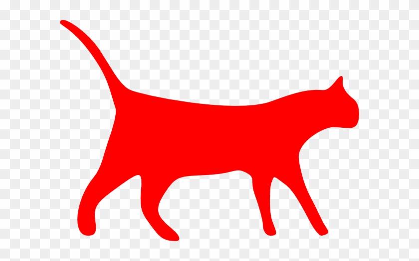 Cat Silhouette Clip Art #22199