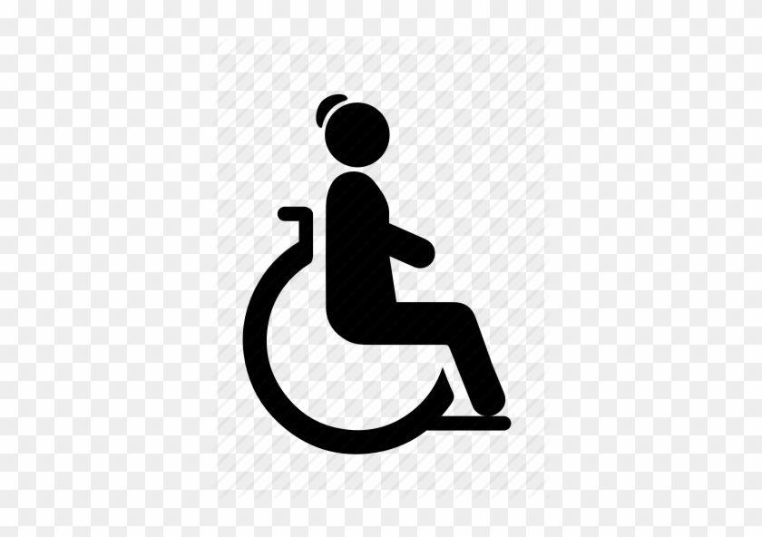 Accessibility, Grandmother, Nursing Home, Old Person, - Old Man In Wheelchair Icon #22209