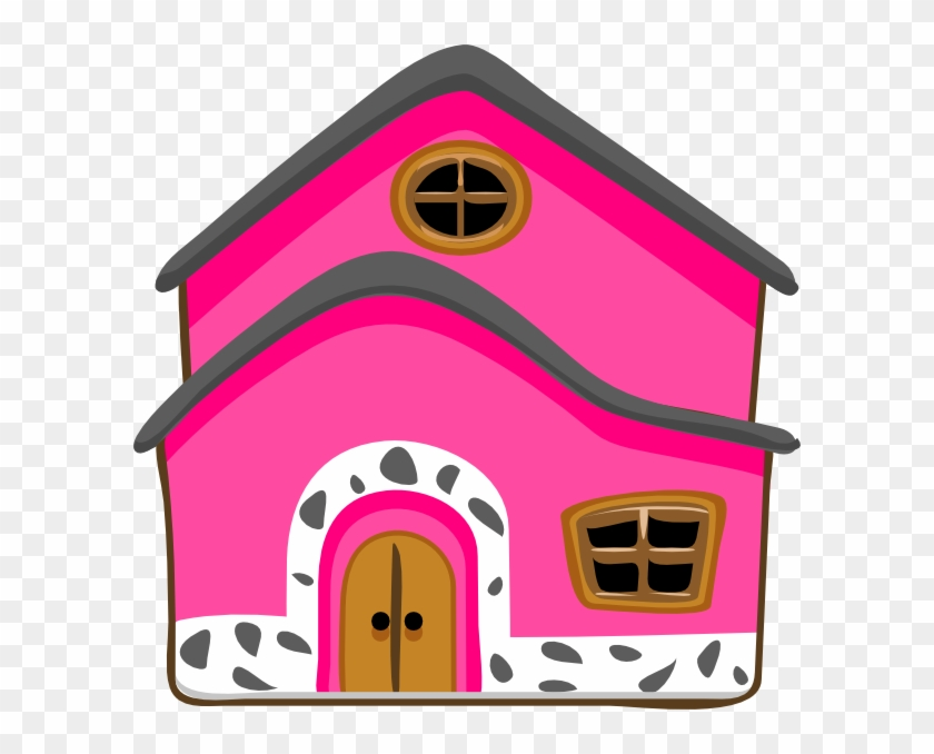 House Pink Cliparts - Green House #22224
