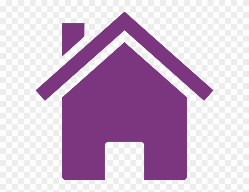 Purple House Clipart #22235