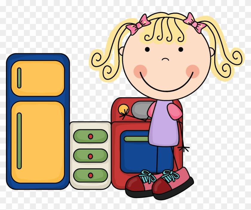 Preschool - Centers - Clip - Art - Dramatic Play Center Clipart #22262