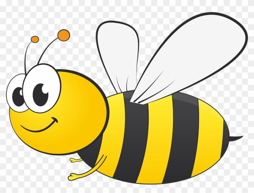 Free Cartoon Bee Clip Art - Clip Art Bee #22264