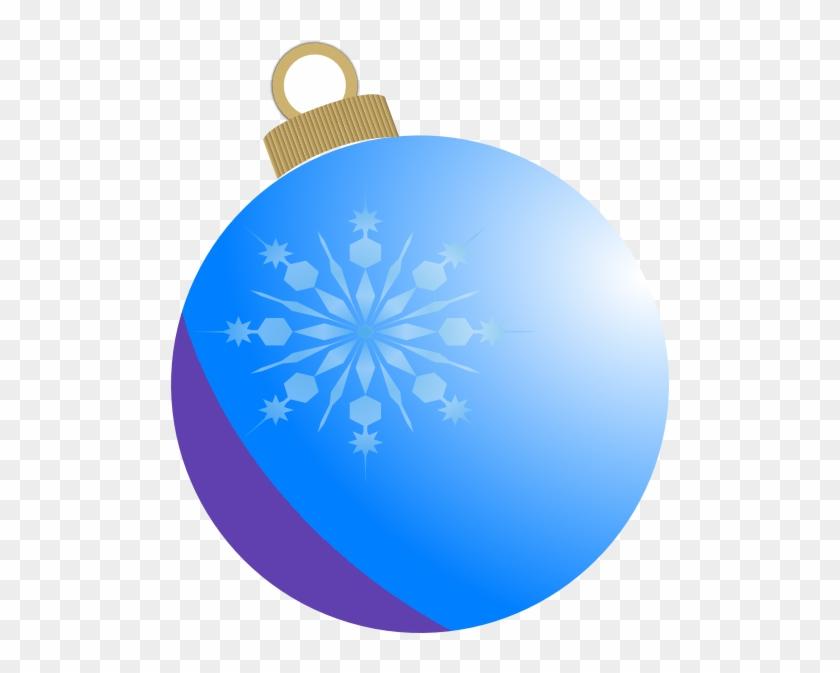Christmas Ornaments Clipart Snowflake - Christmas Ornament Clip #22275