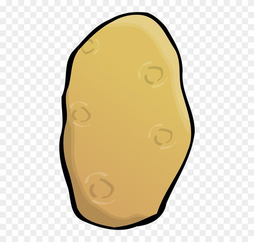 Potato Clip Art - Potato Clip Art #22276