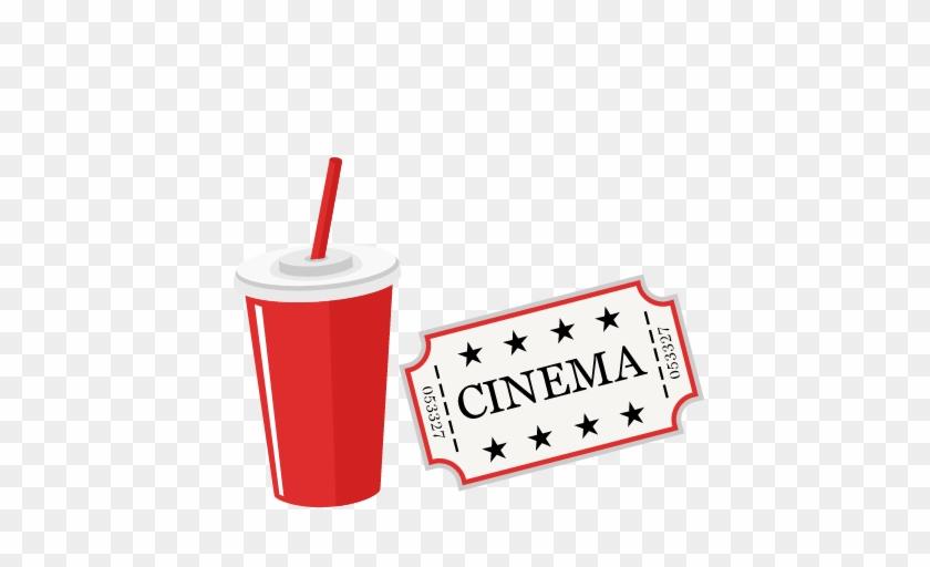 Movie Soda Clipart - Cute Movie Png #22282
