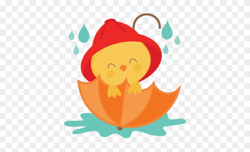 Cute Umbrella Clipart Clipartbarn Clipartpost - Chick With Umbrella Clipart #22302