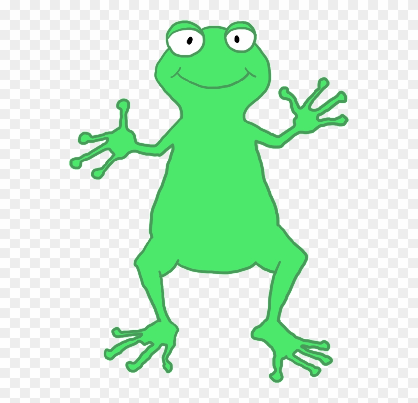 Funny Frog Person - Frog #22318