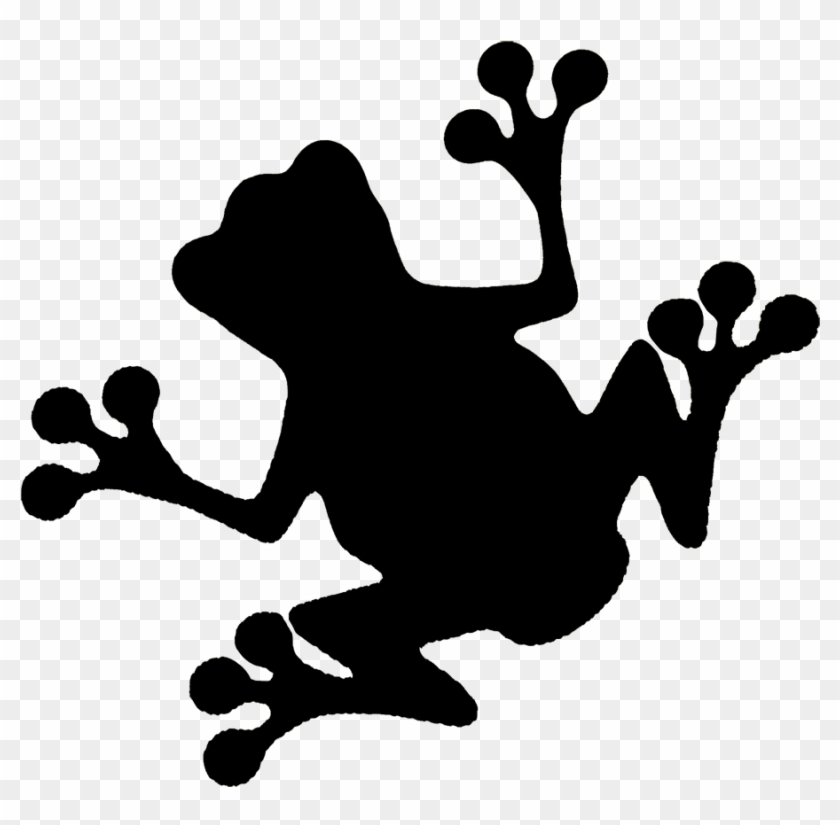 Frog Silhouettes - - Frog Silhouette #22328