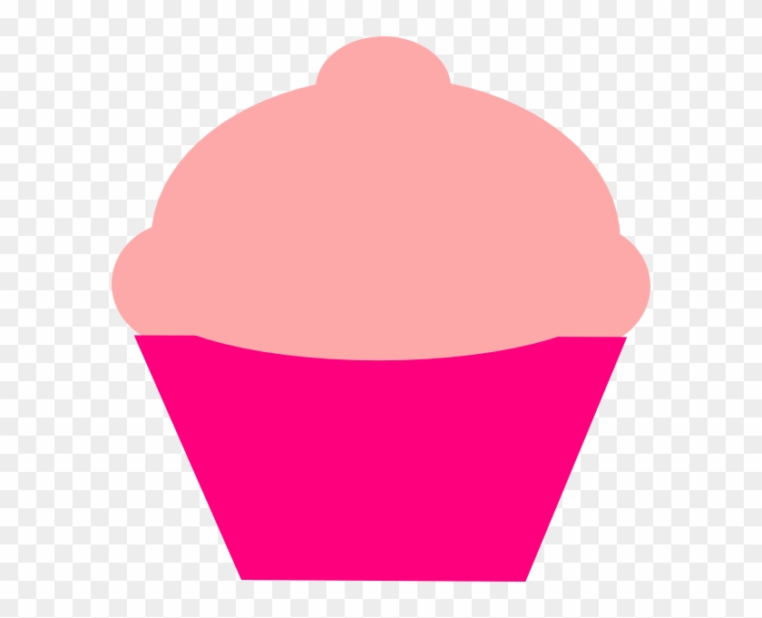 Cupcake Outline Clipart - Cupcake Outline Big #22339