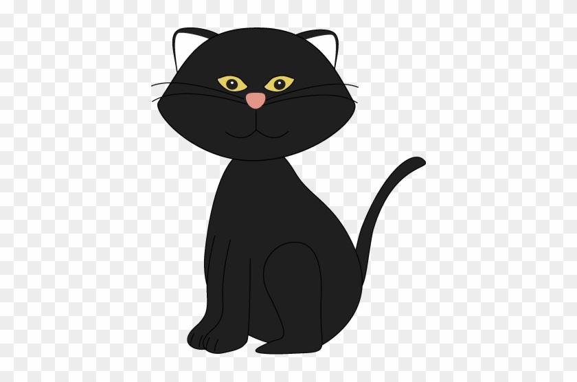 Black Kitten Clipart - Black Clipart #22353