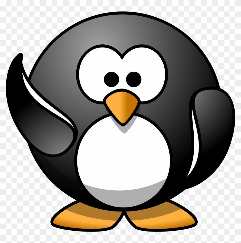 Penguin - Cartoon Penguin #22379