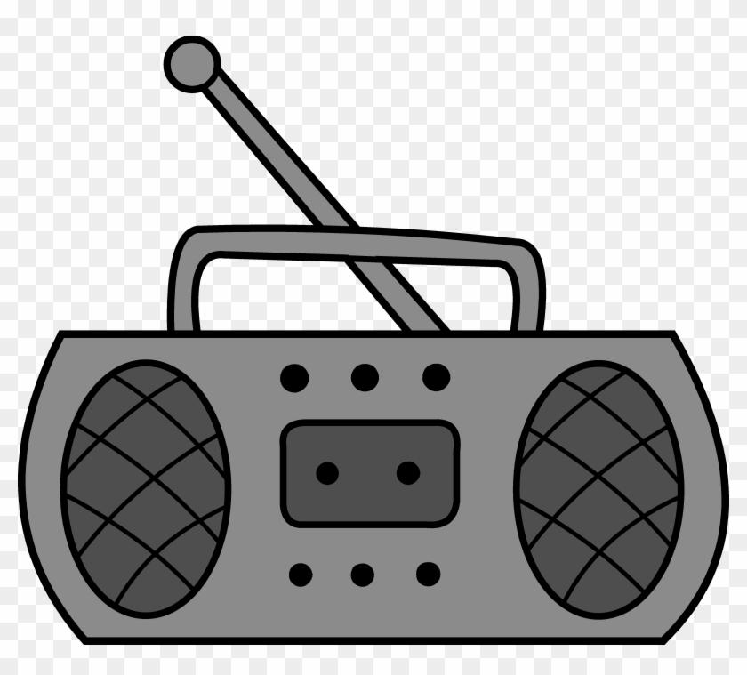 Cute Radio Clipart Design Free Clip Art Png - Radio Clipart #22389