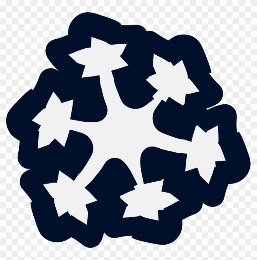Snow Clipart, Vector Clip Art Online, Royalty Free - Snowflake #22387
