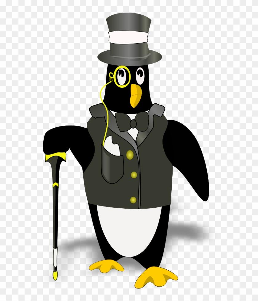 Penguin In Tux Clipart, Vector Clip Art Online - Coolest Thing Throw Blanket #22421