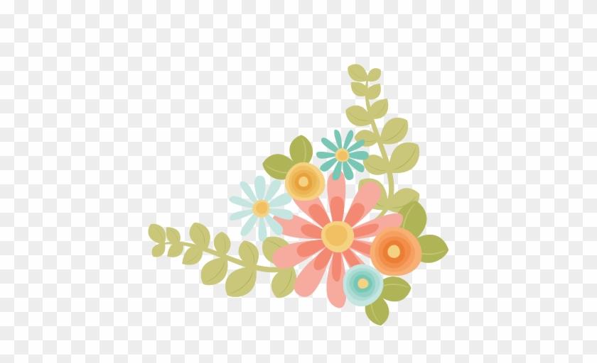 Floral Clipart Cute - Cute Flower Clip Art #22447