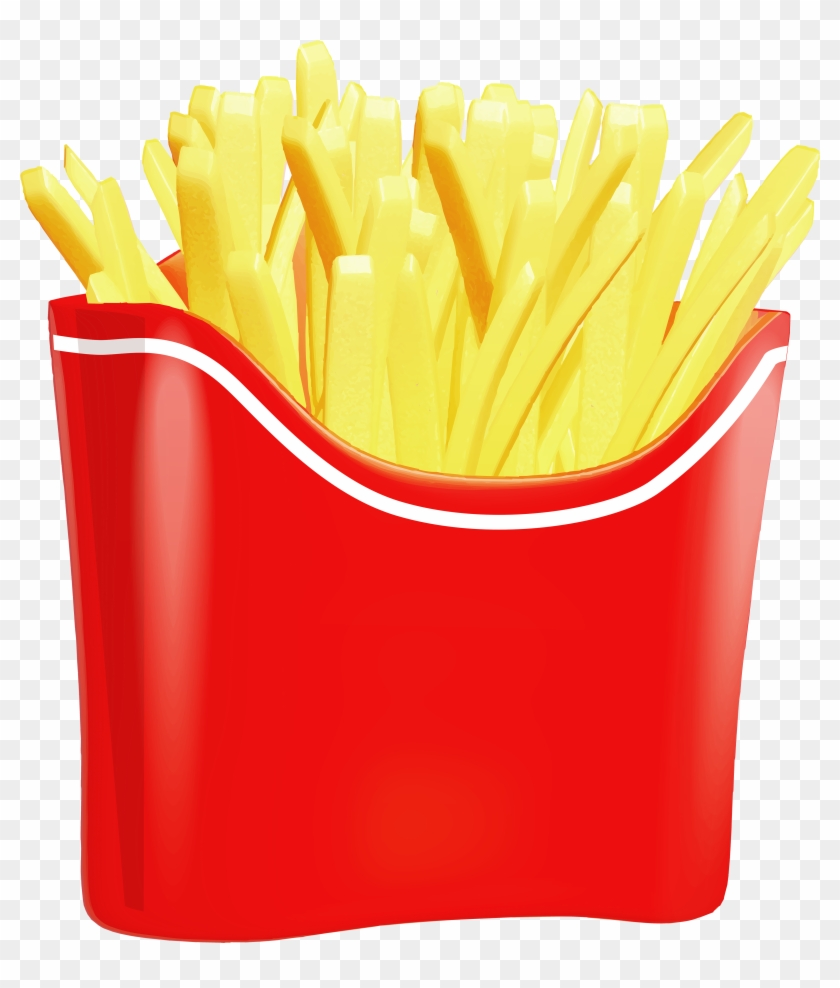 French Fries Png Clip Art - French Fries Images Png #22476
