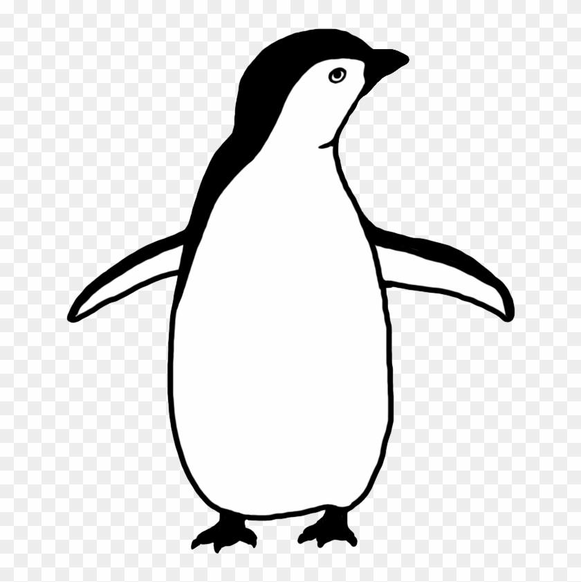 Funny Penguin Clip Art - Penguin Black And White #22504