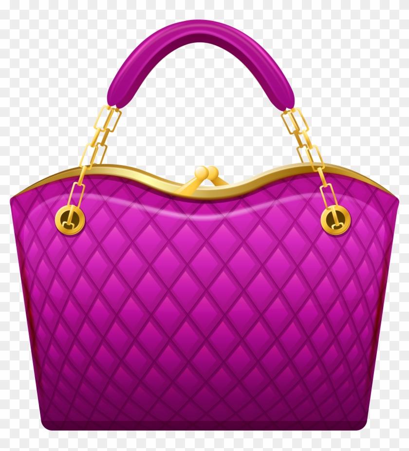 Pink Handbag Png Clip Art - Purse Clipart Transparent Png #22523