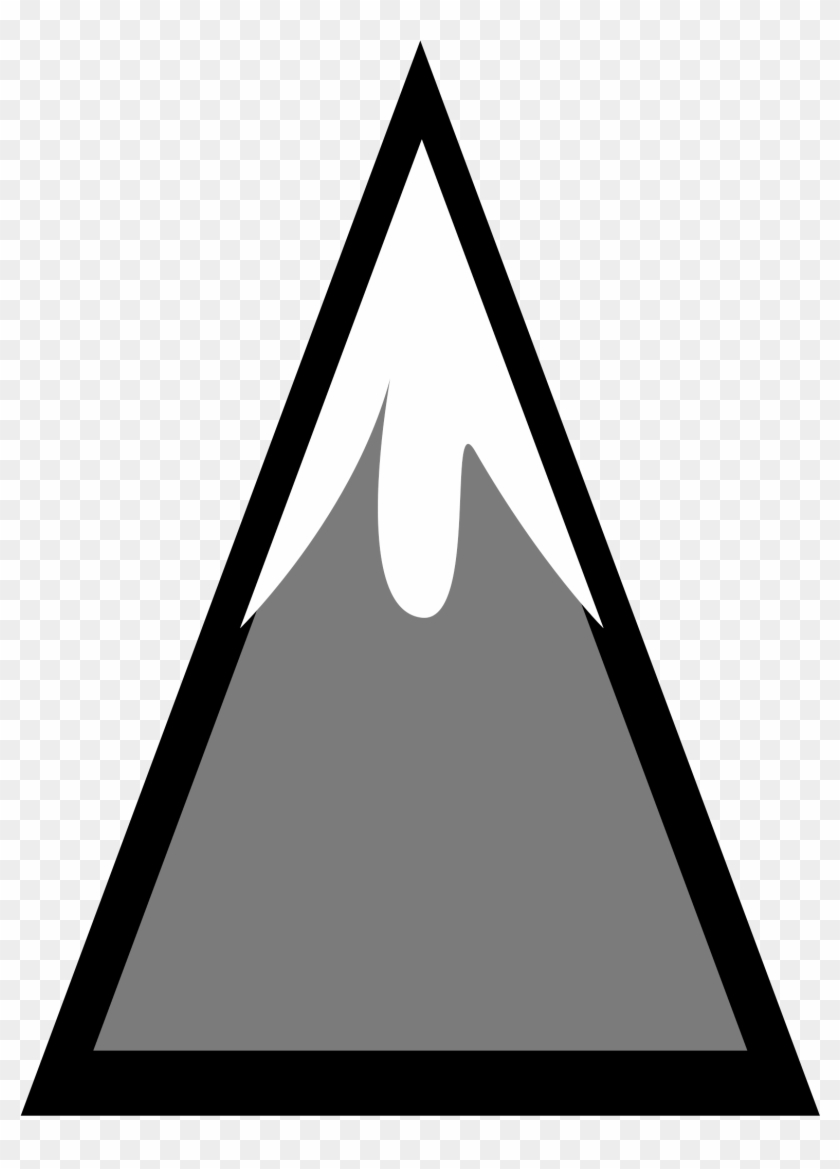 Free Mountain Clipart Mountains Clip Art Vector - Snow Capped Mountain Clip Art #22528