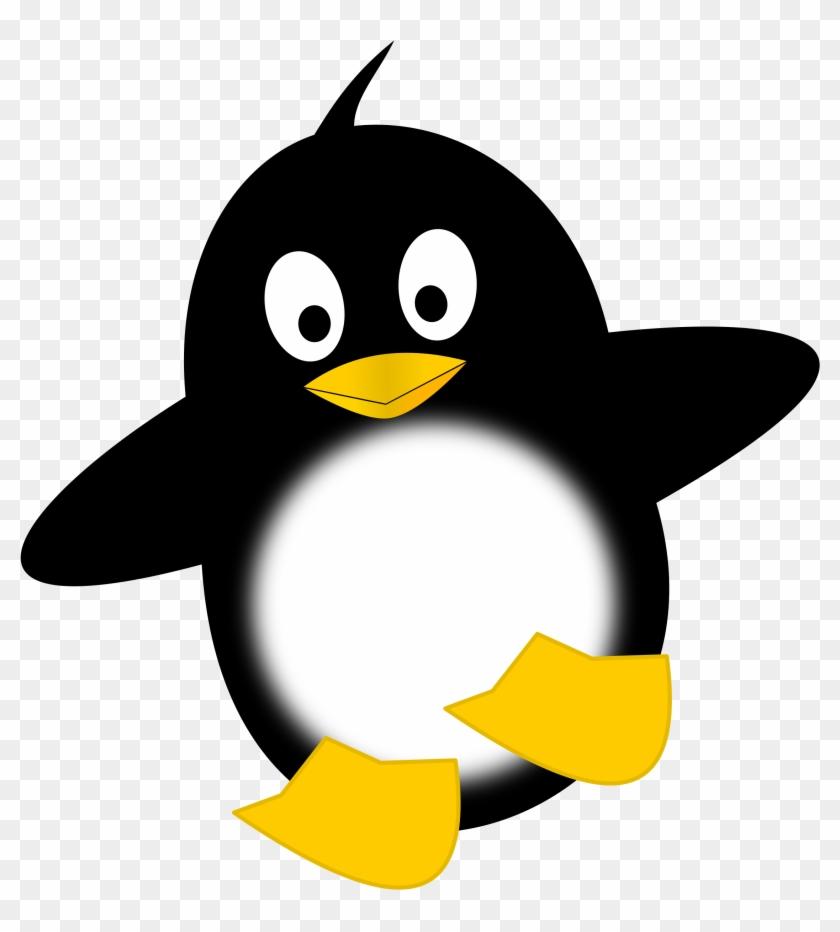 Funny Penguin - Penguin Clipart #22530