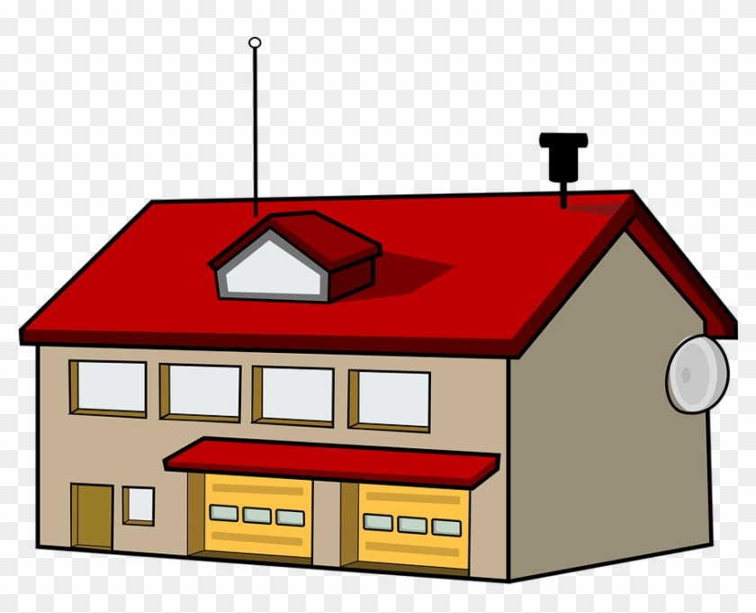 Fire Station Clip Art #22543