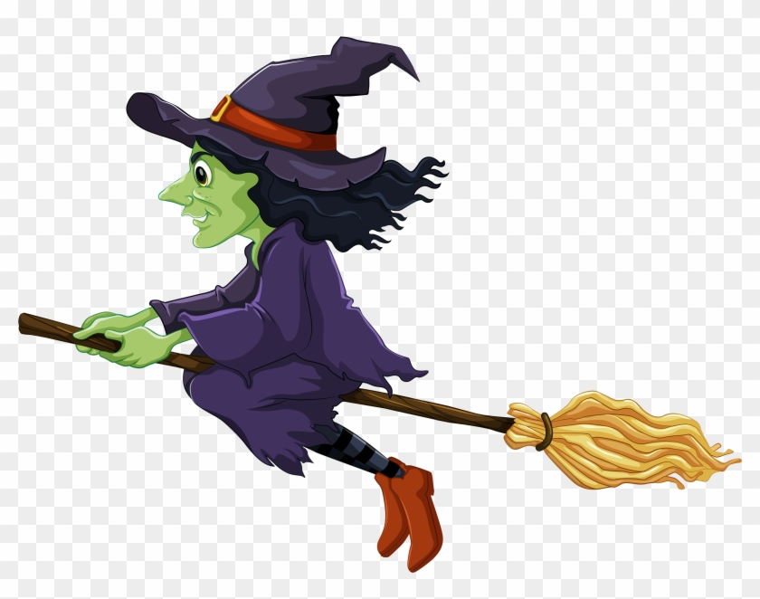 Emma S Trend Fashion And Style Halloween Witch Clipart - Witch Clipart #22579