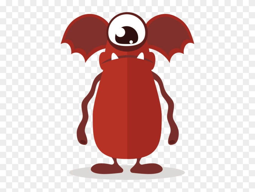 Cute Fun Monster Clipart - Cute Monster Clipart #22566