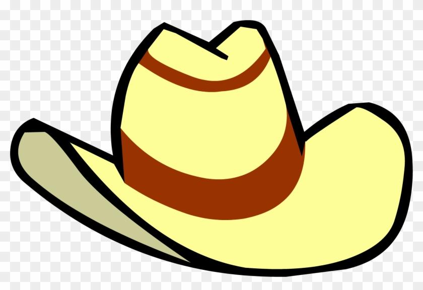 Tan Cowboy Hat - Club Penguin Cowboy Hat #22581