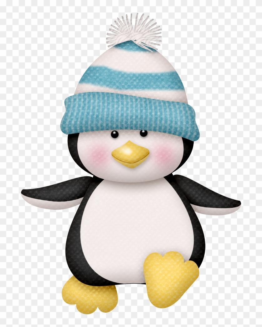Christmas Penguin Clip Art - Xmas Penguin Clip Art #22586