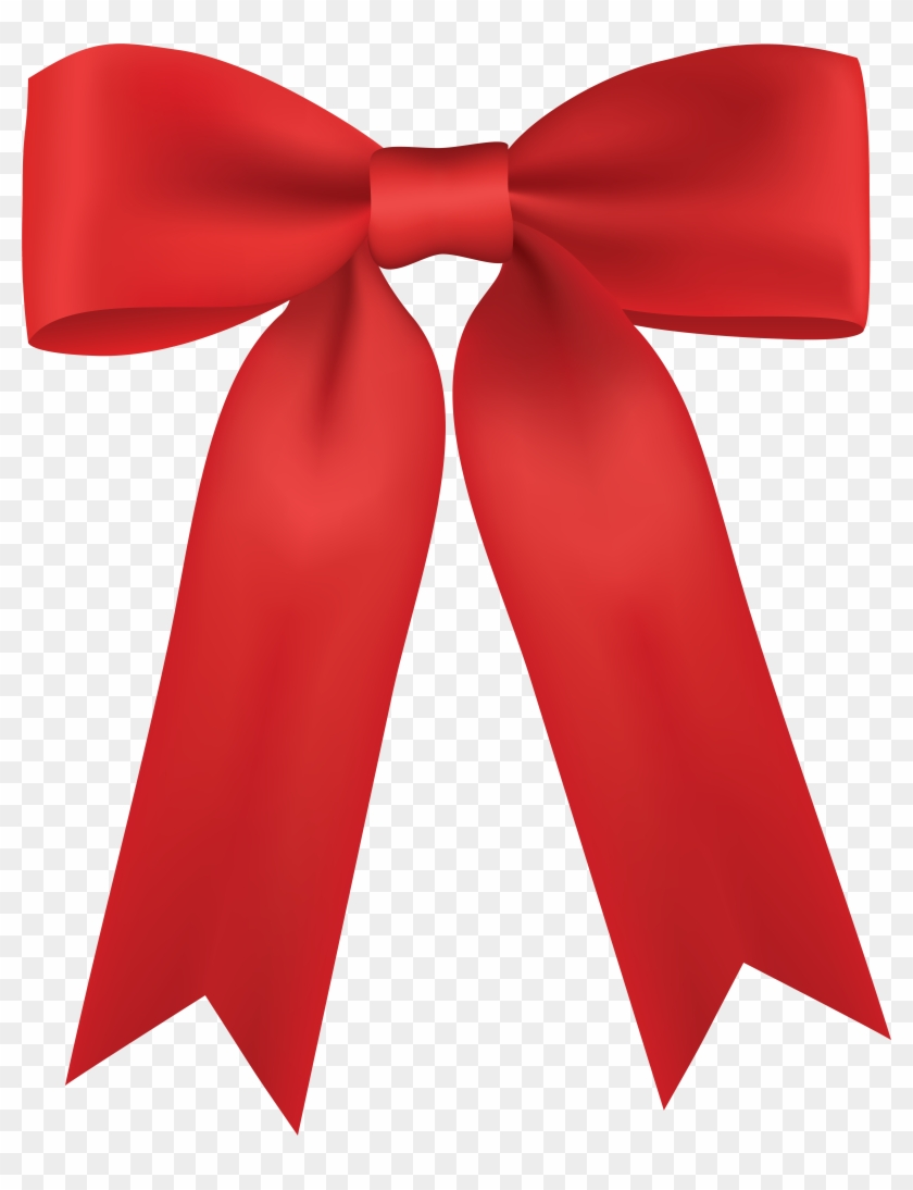 Red Bow Png Clip Art - Red Bow Png Clip Art #22644