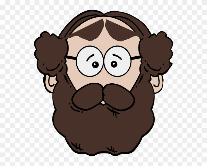 Beard Man Clip Art At Clker - Man With Beard Clipart #22633